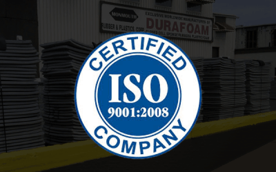 Monmouth Rubber Quality Management System is successfully reassessed to ISO 9001:2008