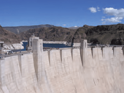 Hoover Dam Bypass Project - example of how Monmouth Rubber & Plastic materials (Bondaflex B33CS & Durafoam C121A) helped guarantee the success of the project