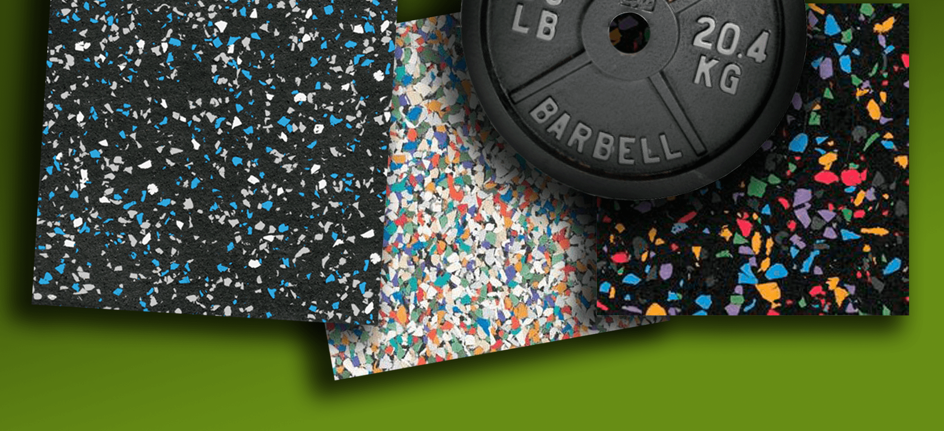 Recycled Rubber And Plastic Foam