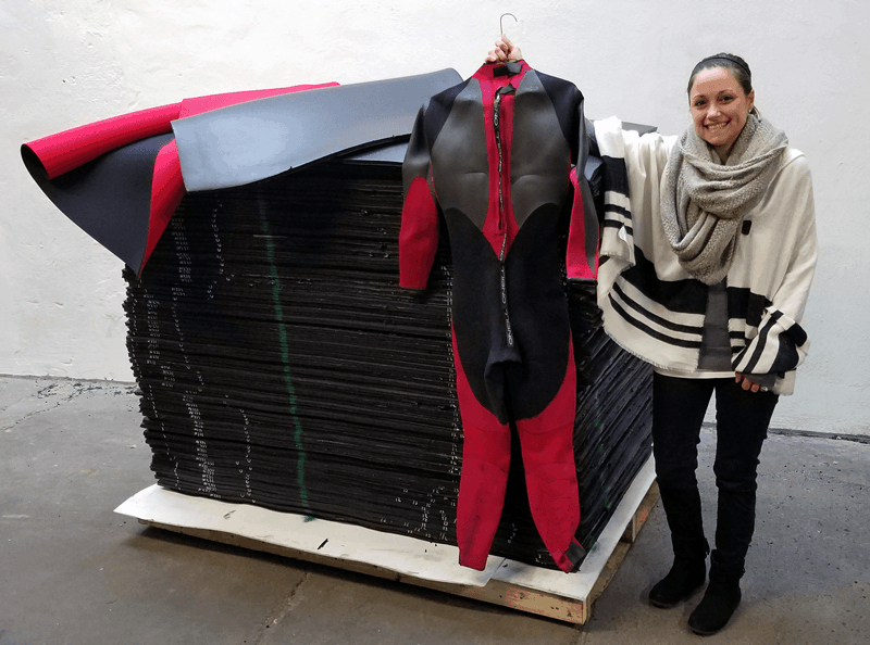 Neoprene Wetsuit Iconic American Product Returns to Being 'Made in America'