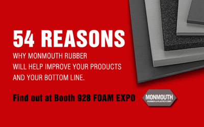 54 Reasons to visit us at the Foam Expo