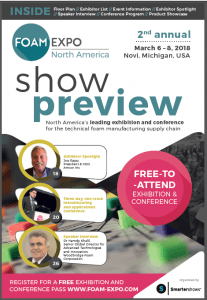 Foam Expo - official trade show brochure